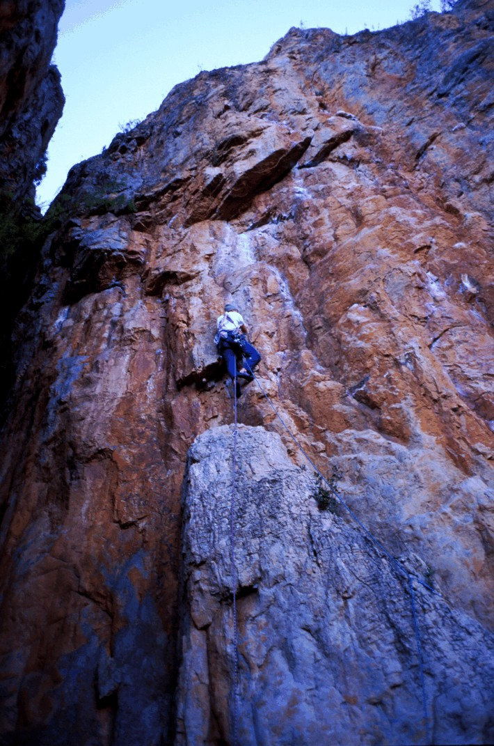 Leading the top pitch of Tanin