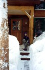 Winter '93 -- the snow is deeper than young Colin