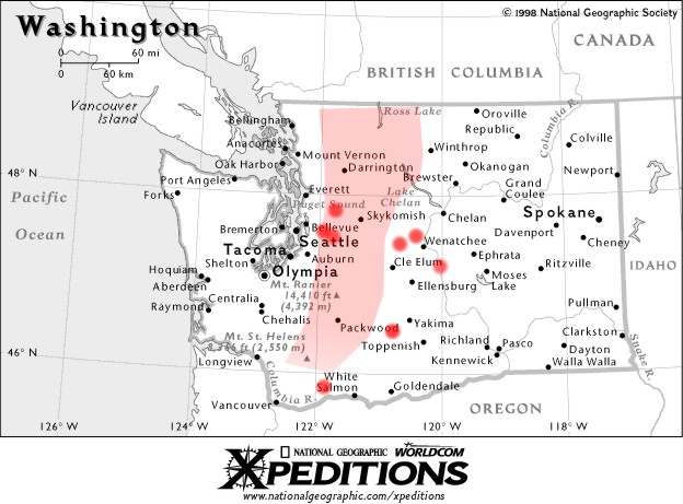 Map of washington frenchman coulee gumiabroncs Choice Image